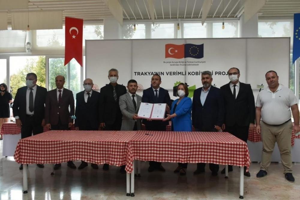 Trakya Verimlilik Platformu Mutabakat Metni İmzalandı.