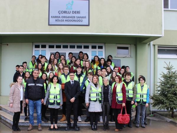 Çorlu Bahçeşehir Koleji'nden Bölgemize Ziyaret