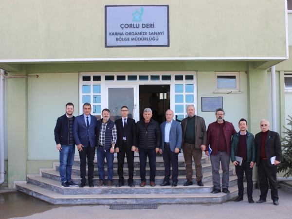 Sakarya 3. Organize Sanayi Bölgesinden Bölgemize Ziyaret