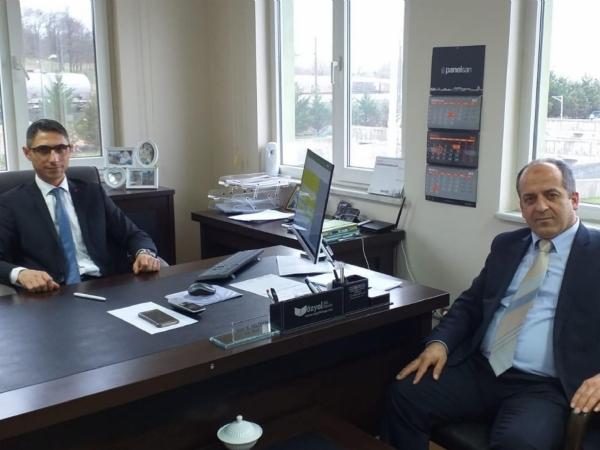 Ergene Sosyal Güvenlik Merkezi Müdürü İlhan BALCI dan Bölgemize Ziyaret