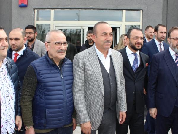 Dışişleri Bakanı Sayın Mevlüt ÇAVUŞOĞLU'ndan Bölgemize Ziyaret