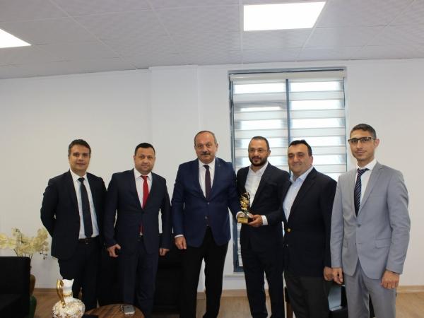Tekirdağ İl Emniyet Müdürü Mustafa AYDIN' dan Bölge Müdürlüğümüze Ziyaret.