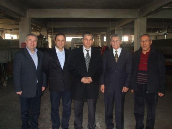 Çorlu Kaymakamı Sn. Hulusi DOĞAN 06.03.2012 tarihinde Bölgemize ziyarette bulunmuştur.