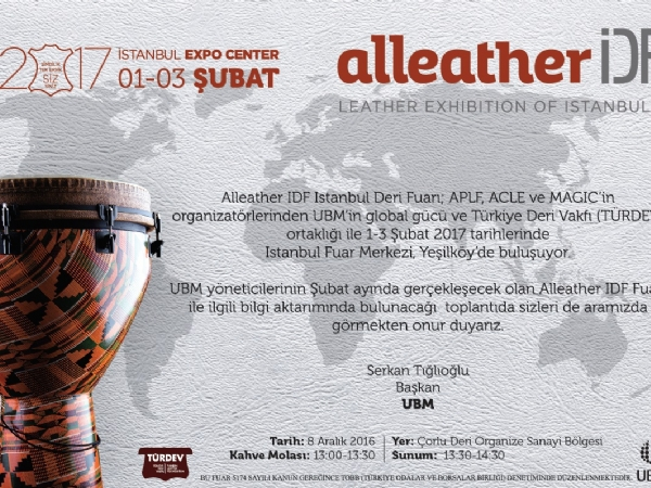2017 Alleather İDF İstanbul Deri Fuarı