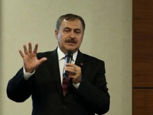 Orman ve Su İşleri Bakanı Veysel Eroğlu İle Bilim, Sanayi ve Teknoloji Bakanı Dr. Faruk Özlü Çorlu'da OSB 'lerle Toplantı Yaptı