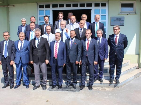 Orman ve Su İşleri Bakanlığı Müsteşarı Akif Özkaldı Bölgemizi Ziyaret Etti