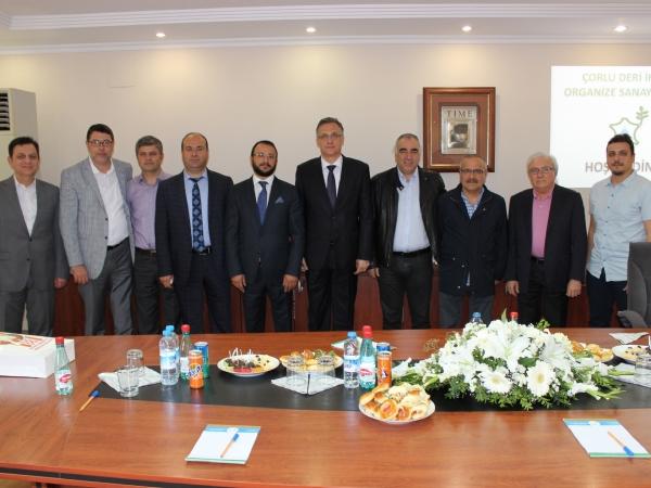 Belarus Cumhuriyeti Ankara Büyükelçisi Sn. Andrei  V. SAVINYKH Bölgemizi Ziyaret Etti