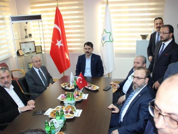 Çevre ve Şehircilik Bakanı Murat KURUM´ dan Bölgemize Ziyaret