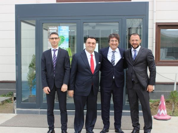 Ekolojik Enerji A.Ş. Yönetim Kurulu Başkanı Ömer SALMAN ' a Ziyaret