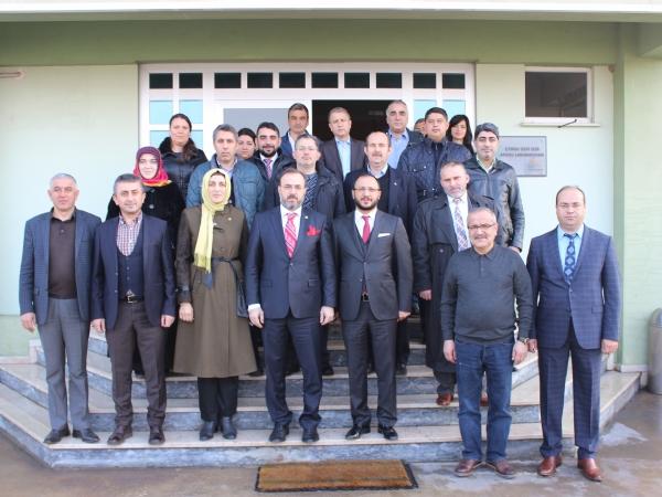 Tekirdağ Akparti Milletvekillerimiz Sn. Mustafa YEL ve Sn. Ayşe DOĞAN Bölgemizi Ziyaret Ettiler