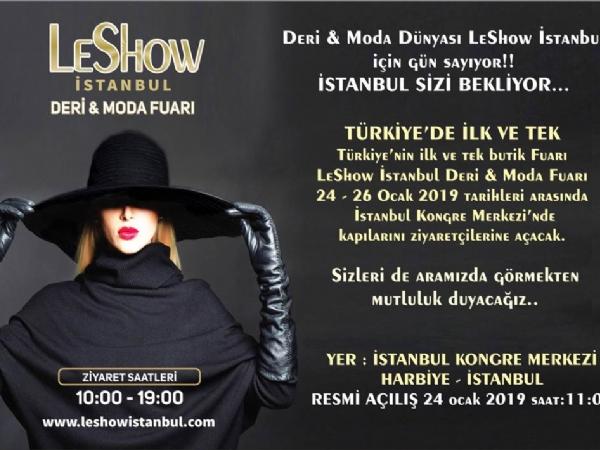 Leshow İstanbul Deri ve Moda Fuarı