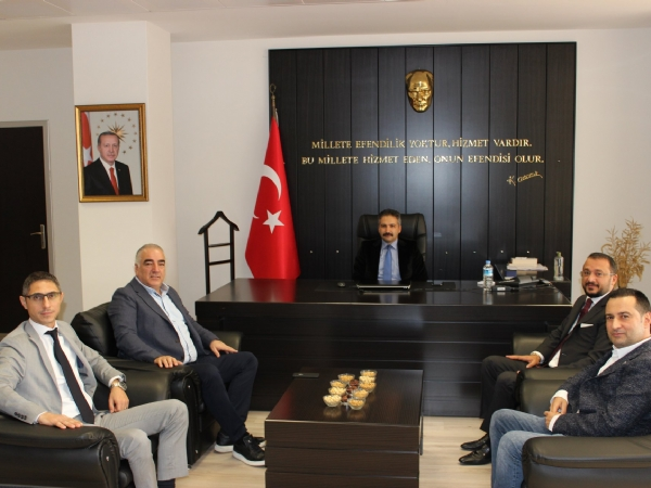 Ergene Kaymakamı Mehmet Emin TAŞÇI 'ya Ziyaret