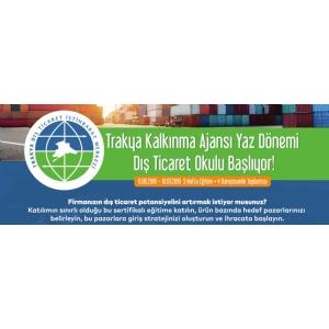 Çorlu Dış Ticaret Okulu Duyurusu