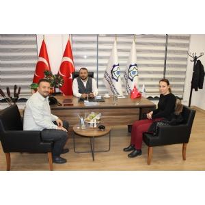 Sponsoru olduğumuz Düşün Satranç Evi Spor Kulübü Antrenörlerinden Bölge Müdürlüğümüze Ziyaret.